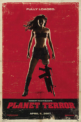 Grindhouse - Planet Terror Red Poster 98 x 68cm - Robert Rodriguez