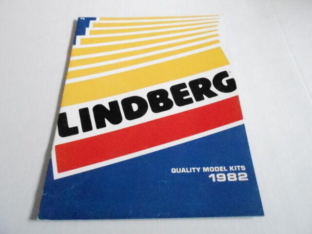 1982 VINTAGE CATALOG #2061 - LINDBERG MODELS - HOBBY KITS