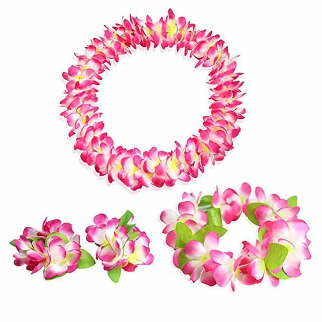 Decorations Supplies Flower Garland Dress Hula Beach Dance Grass Skirt