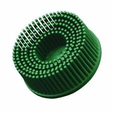 3M 07526 SCOTCH BRITE ROLOC BRISTLE DISC BRUSH 50MM GREEN 50 GRADE MEDIUM x 5