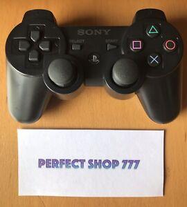 Manette PS3 Noire Officielle Sony - Bon État -FR- Testée Nettoyée