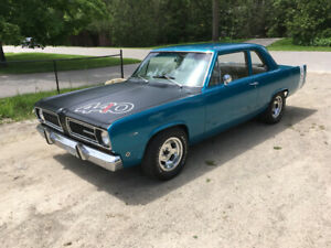 1968 Plymouth two door post 440 supercharged