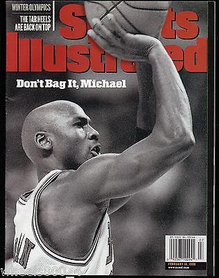 Sports Illustrated 1998 Chicago Bulls Michael Jordan  No Label Excellent