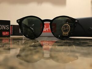 954898cb2d Ray-Ban RB2180 601 71 51MM Round Black Frame G15 Lens Sunglasses