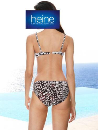 Taupe-weiß Softcup-Bikini Heine KP 89,90 € SALE/%/%/% NEU!! Cup D