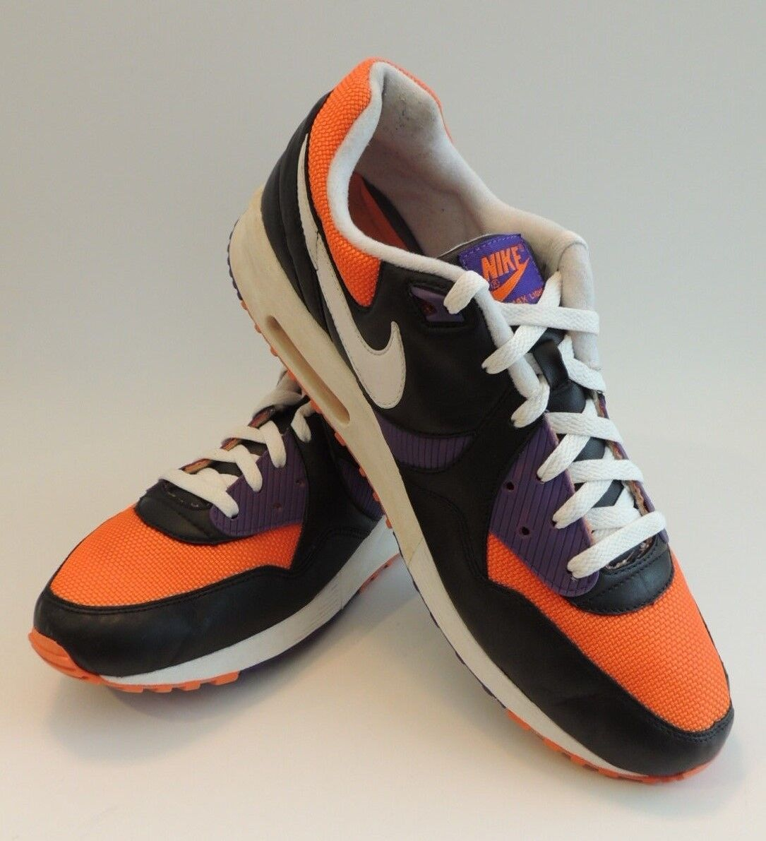 Nike Air Max Light Jogging Tennis shoes Sneaker 13 Phoenix Suns Purple orange OG