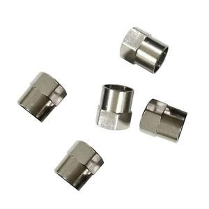 5pcs-Auto-Copper-Chrome-Tyre-Tire-Dust-Cap-Wheel-Air-Valve-Stem-Screw-Cover-Lid
