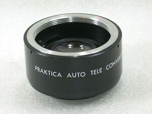 Genuine-Praktica-2X-Teleconverter-Tele-Converter-For-Pentax-Screw-M42