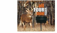 All Four One Deer Feeder With Center Cone Wild Game Feeder Equine Sheep Goat