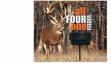 baldor auger frame feeder deer hopper ebay plastic mycxsr bhp with derzrq