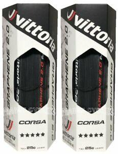 Vittoria Corsa G Graphene clincher 700 x 28 all black 2 tires