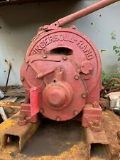 Ingersoll Rand Utility Hoist Model K4u Air Tugger Winch With Drum And Cable