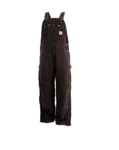New Carhartt Quilt Lined Bib Overalls Sandstone Insulated Men/'s $150 46//44