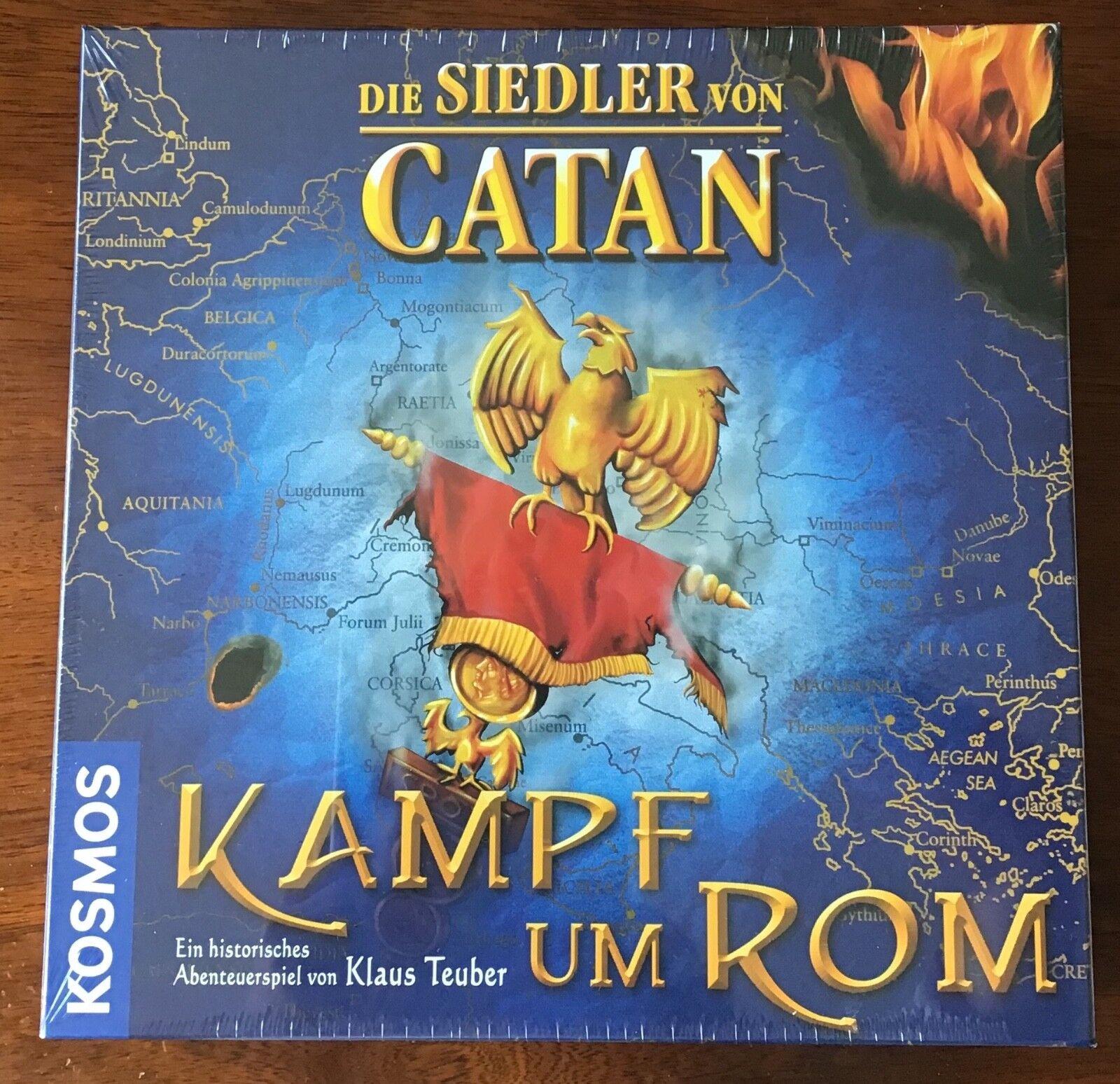 Die Siedler von Catan - Kampf um Rom - - - Neu in Folie     - Sammlerstück 3870de