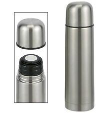 Doppelwandige Isolierflasche Thermosflasche Thermoskanne aus Edelstahl 0,5 Liter
