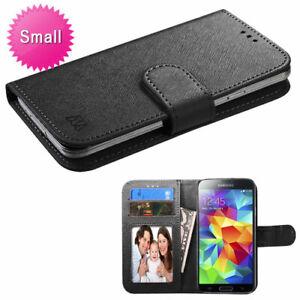 Universal-MyJacket-Wallet-Slim-Flap-Case-Card-Slots-ID-Black-For-Mobile-Phones