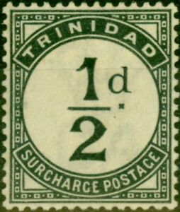 Trinidad-1885-1-2d-Slate-Black-SGD1-Fine-Unused