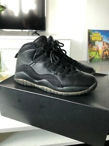 newest 02061 9c774 Details about Nike Air Jordan 10 OVO Black Size 8 with box
