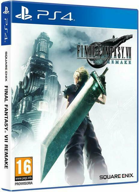 Final Fantasy VII 7 Remake PlayStation 4 PS4