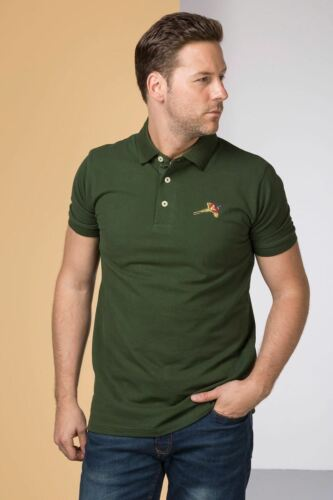 Mens Gransmoor Polo Shirt Pique with Duck or Pheasant Embroidery Hunting Sport