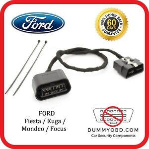 Details about Ford Focus MK2 ST & RS DUMMY OBD PORT anti theft security  alarm OBD2 deadlock