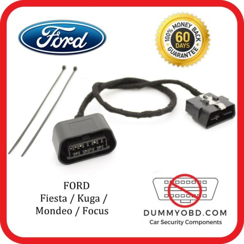FORD Focus MK2 ST /& RS Manichino porta OBD ANTI FURTO ALLARME di sicurezza OBD2 Punto Morto