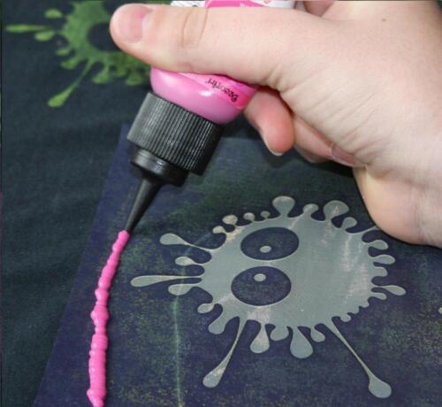 1 Textil Schablone TIERE SCHRIFT CAKES Stencil MY STYLE Siebdruck RAYHER
