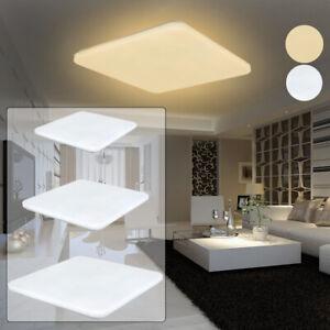 Details zu 24W/36W/48W LED Ultraslim Deckenleuchte Badezimmer Licht  Wohnzimmer Deckenlampe
