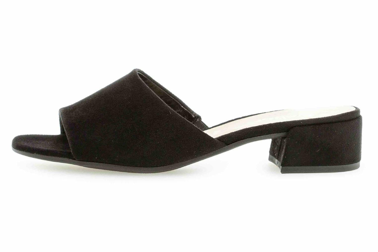 Gabor Fashion Sandali Sandali Sandali in overDimensione nero 21.700.47 grandi scarpe da donna 548434