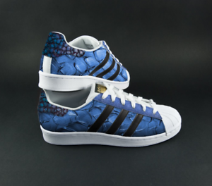 Custom Adidas Superstar Paisley