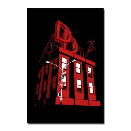 Daredevil Poster 2018 Season 3 TV Series Art Silk Poster 13x20 32x48 inch