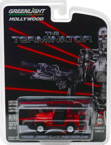 1983 Jeep CJ-7 Renegade Sarah Connor The Terminator 1:64 GreenLight 44810