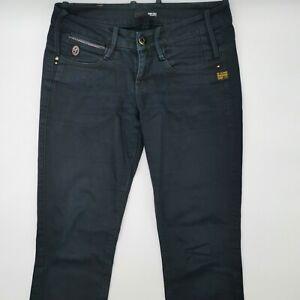 G-Star Brooke Straight WMN 60432 W27 L32 blau Damen Designer Denim Jeans Hose