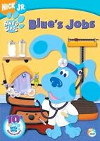 Blue's Clues - Blue's Jobs Dvd Nick Jr Buy 2 Items-get $2 Off
