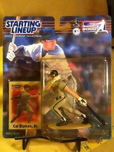 2000 Starting Lineup MLB Cal Ripken Jr. Baltimore Orioles - Hasbro
