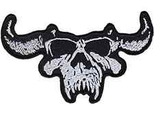 Danzig Skull Punk Rock Heavy Metal Music Band Logo Patch Sew Iron on Embroidered