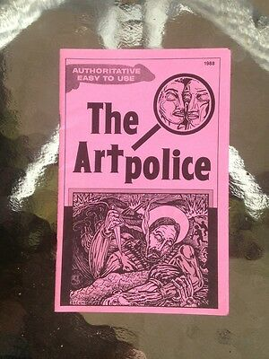 Constructive Artpolice 'zine March 1988 Frank Gaard Any Baird Large Assortment Fan Clubs & Zines