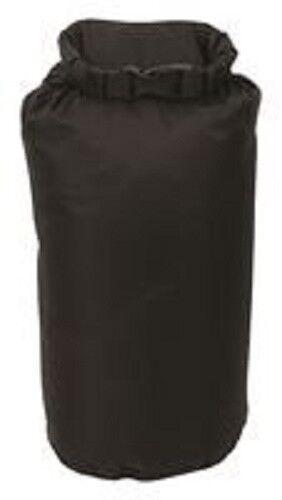 Highlander DB110 Imperméable Légère Roll Top Sac étanche sac pochette noir 8 L
