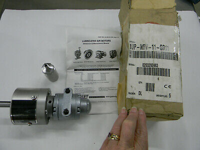 157-3 NEW NO BOX GAST 1UP-NRV-4-GR11 AIR GEAR MOTOR