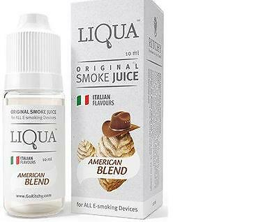 E-Liqiud 8 x 10 ml orginal Liqua - Liquid, Grip, Joyetech, Evod, Aspire, Box