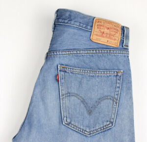 Levi-039-s-Strauss-amp-Co-Hommes-505-Coupe-Standard-Jeans-Jambe-Droite-Taille-W33-L32