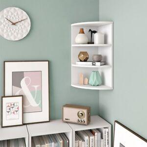 Mensola da parete scaffale angolare libreria mensole muro for Mobile salotto angolare