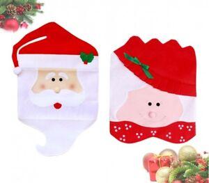 ... Pack 2 Coprisedia Natalizio Babbo E Mamma Natale