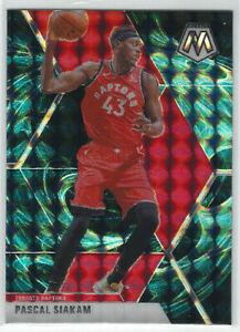 2019-20 Panini Mosaic Genesis Prizm #19 Pascal Siakam SSP Toronto Raptors NBA 🏀