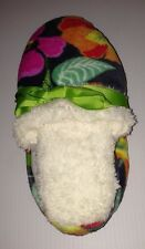 Vera Bradley Fleece Slippers *JAZZY BLOOMS* Large