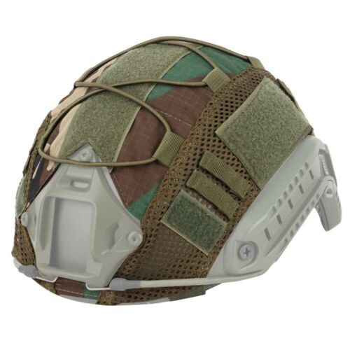Tactical Airsoft Helmet Camouflage Cover for Ops-Core FAST PJ Helmet Headwear