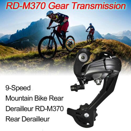MTB Cycling Accessories 9 speed M370 Bicycle Derailleur Parts Rear Derailleurs