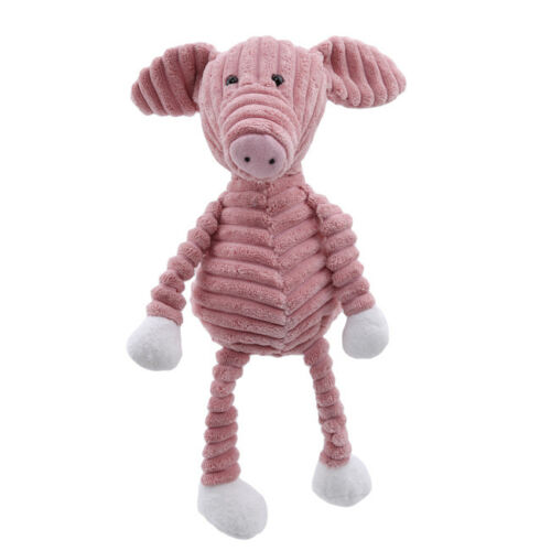 Plush Toy Forest Animal Stripe Elephant Comforting Doll Baby Appease Toys Shan