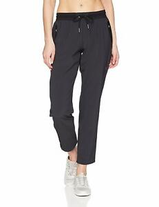 ASICS-Women-039-s-Stretch-Weave-Pants-Performance-Black-X-Small