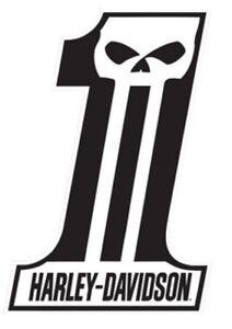 harley davidson dark custom 1 logo die cut embossed tin sign 11 5 rh ebay com harley davidson 1 logo history harley davidson 1 logo on golf ball value